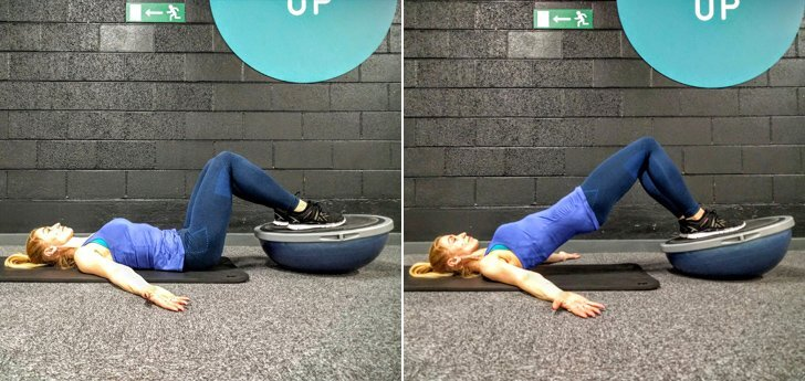 BOSU-Hip-Bridge