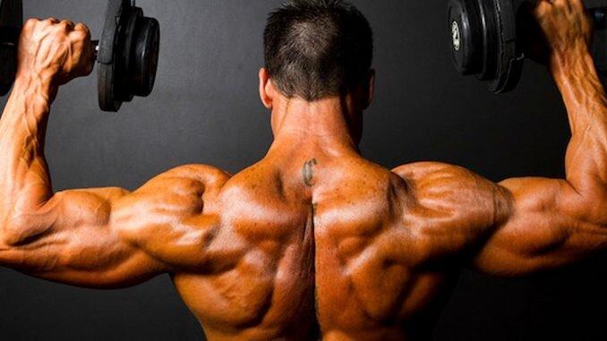 En geniş sırt kasları kuvvet antrenmanıdır