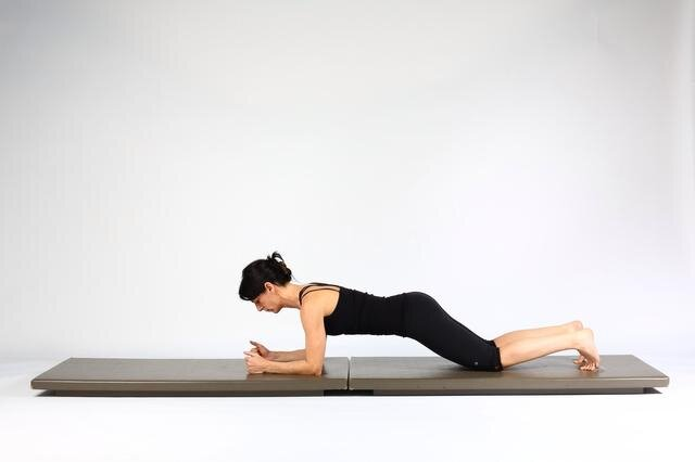 forearm-plank-on-knees-hareketi